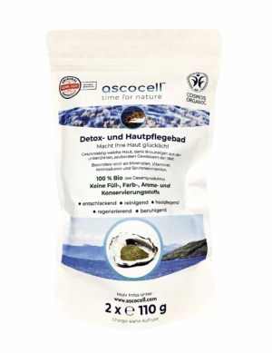 ascocell BIO Deatox- und Hautpflegebad